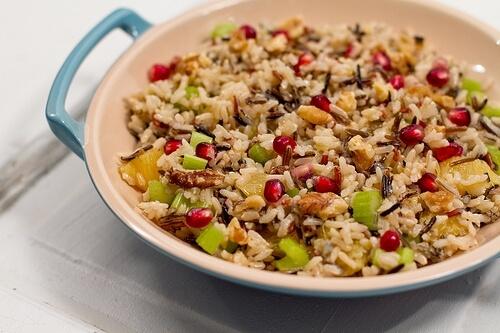 potato wild rice salad wild rice salad with wild rice and wheat berry ...