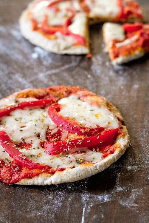 Pita bread pizza recipe
