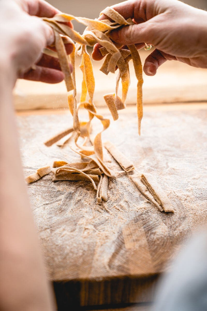 Whole wheat pasta recipe | Homemade whole wheat pasta