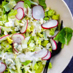 Chopped salad recipe | Radish salad