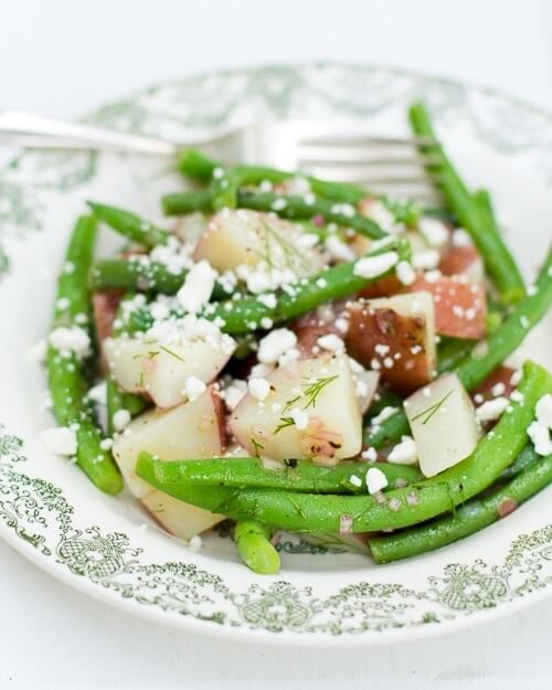 Green Bean, Potato, and Dill Salad