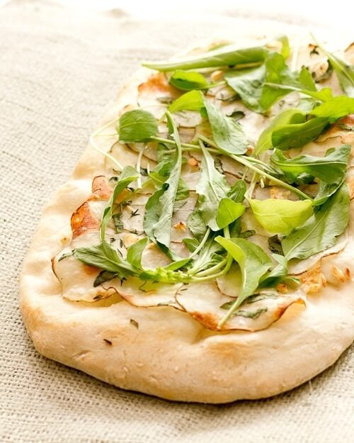 Potato and Arugula Flatbread