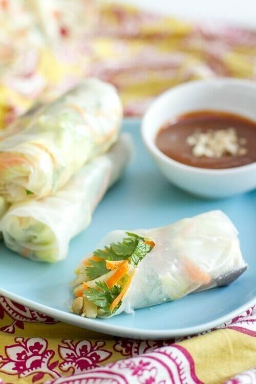 Fresh rolls | Easy spring roll recipe