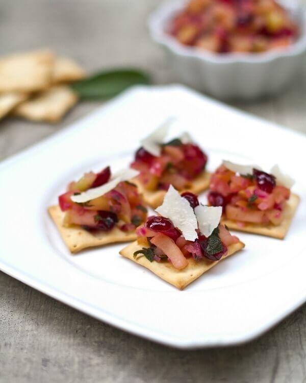 Apple Cranberry Appetizer