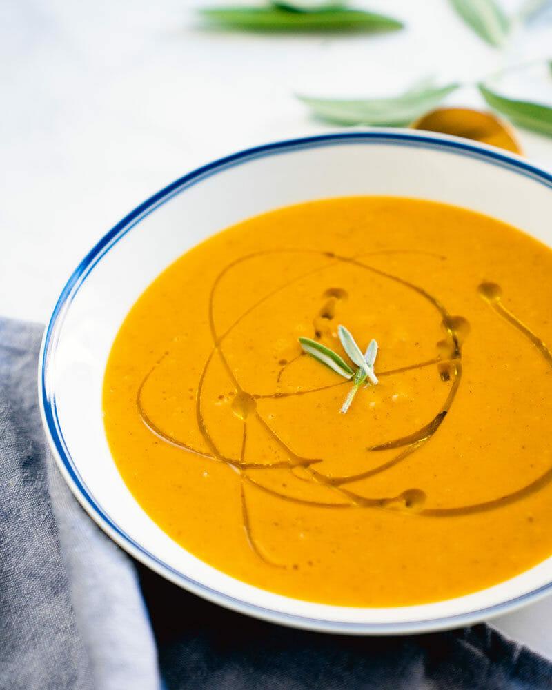 Butternut squash soup reicpe