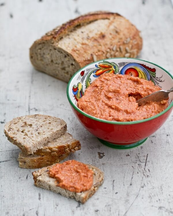 Quick Tomato Almond Spread
