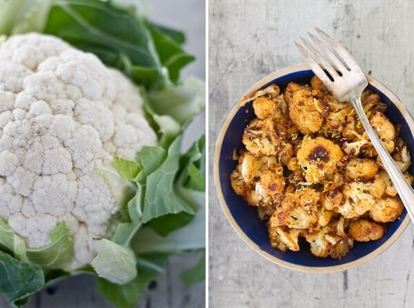 Spiced Roasted Cauliflower