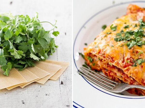 How to make Mexican lasagna