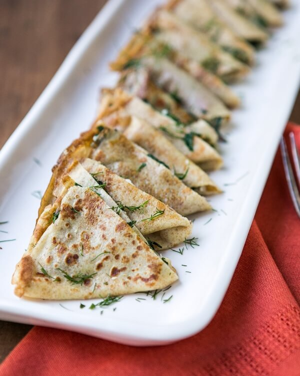 Grilled cheese crepes