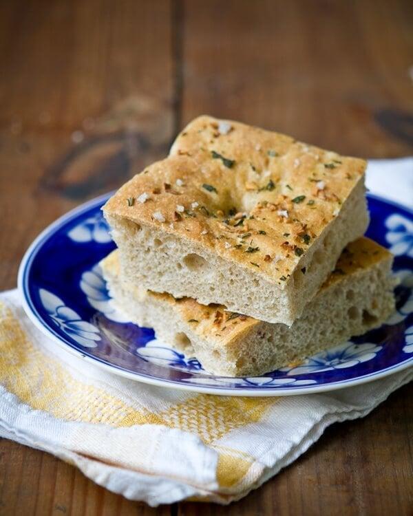 Garlic Herb Focaccia Bread