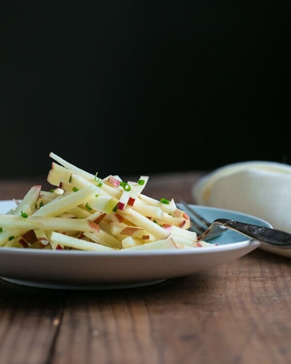 Apple Manchego Salad Recipe