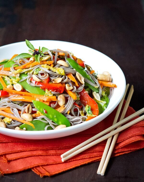 Vegetable and Noodle Stir Fry