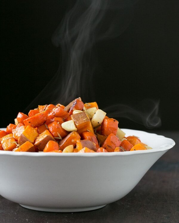 Thanksgiving roasted vegetables recipe
