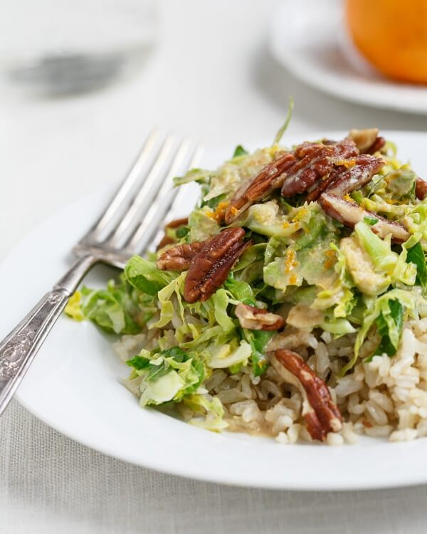 Shaved Brussels sprouts | Shaved Brussel sprouts