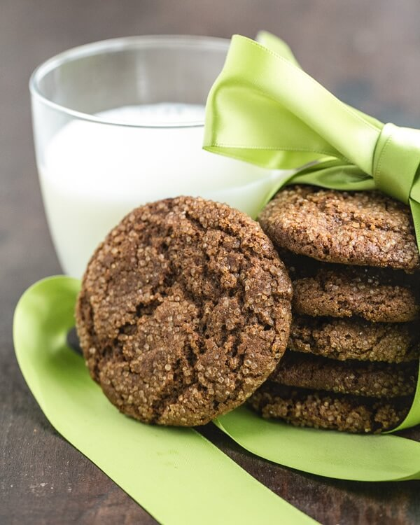 Soft Molasses Ginger Cookies