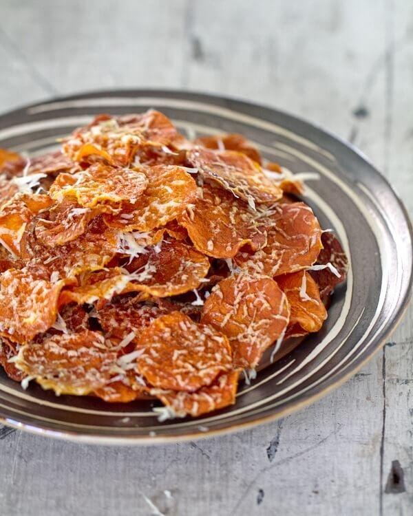Baked Butternut Squash Chips