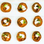 Loaded Sweet Potato Bites