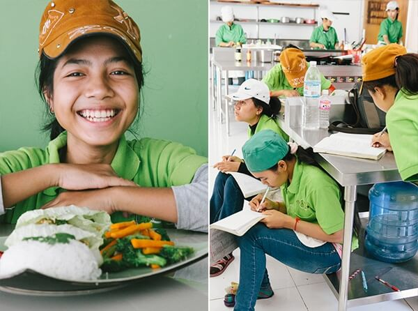 Giving Challenge: Help Support a Cambodian Cooking School
