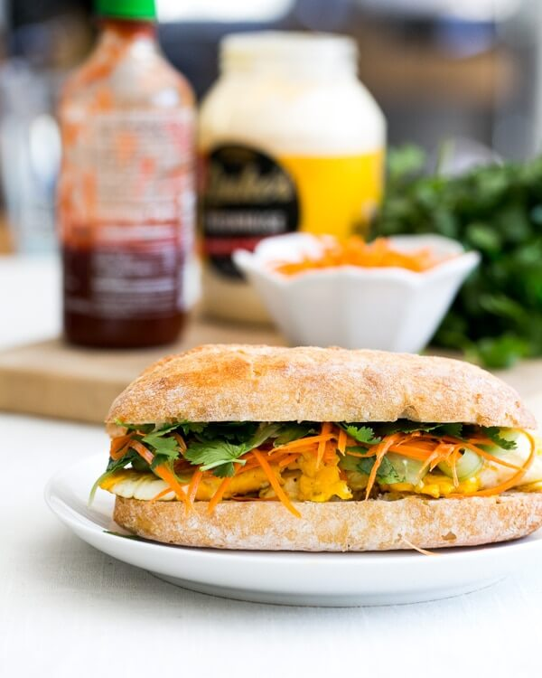 Vegetarian Banh Mi | A Couple Cooks
