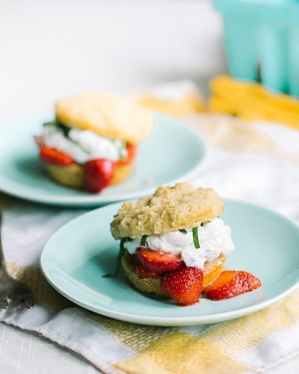 How to make healthy strawberry shortcake
