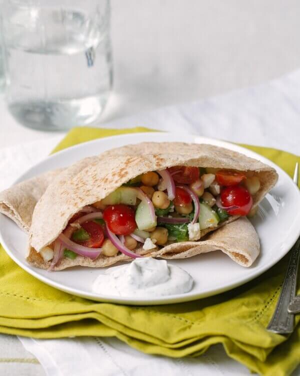 Greek Pita Sandwiches A Couple Cooks