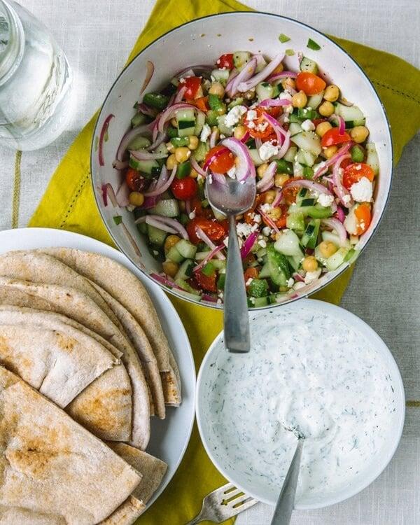 Greek Pita Sandwiches A Couple Cooks
