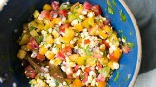 Heirloom Tomato Salsa Cruda
