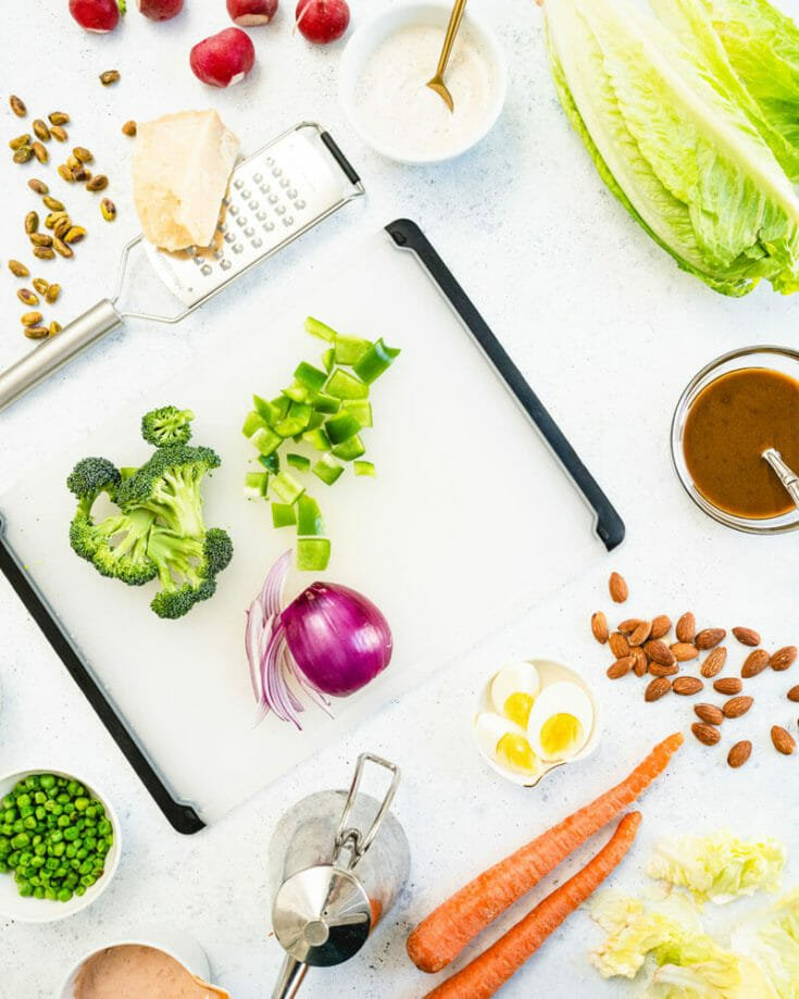 Easy Salad Bar Ideas