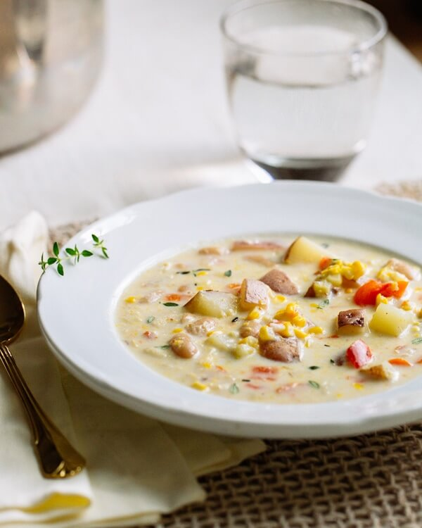 Corn and White Bean Chowder