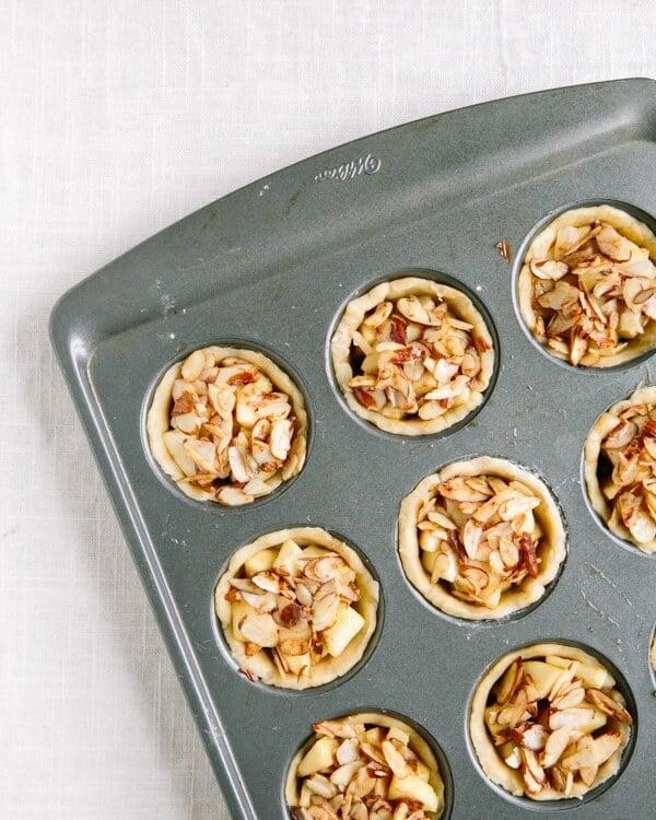 Mini Apple Pies with Bourbon