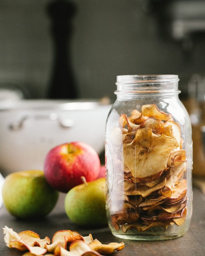 Cinnamon Apple Chips | A Couple Cooks