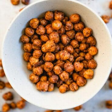 Roasted chickpeas | Crispy chickpeas