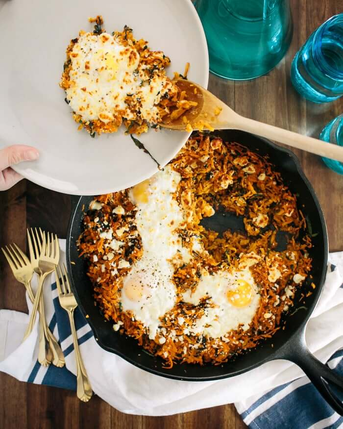 Sweet Potato Dinner Skillet | Sweet potato dinner recipes