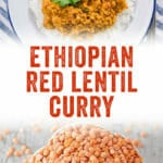 Ethiopian Lentils