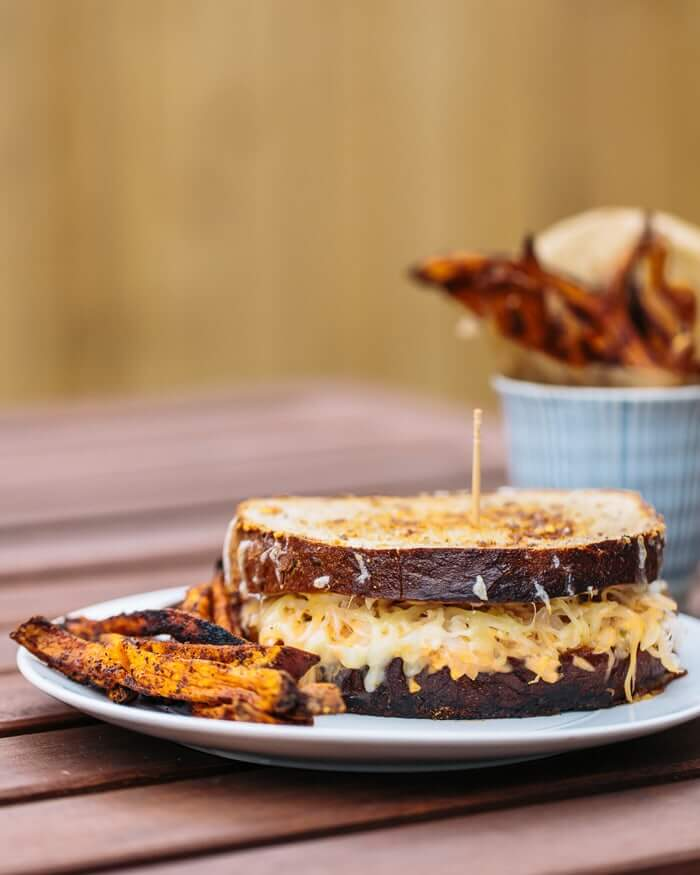 The Vegetarian Reuben | A Couple Cooks