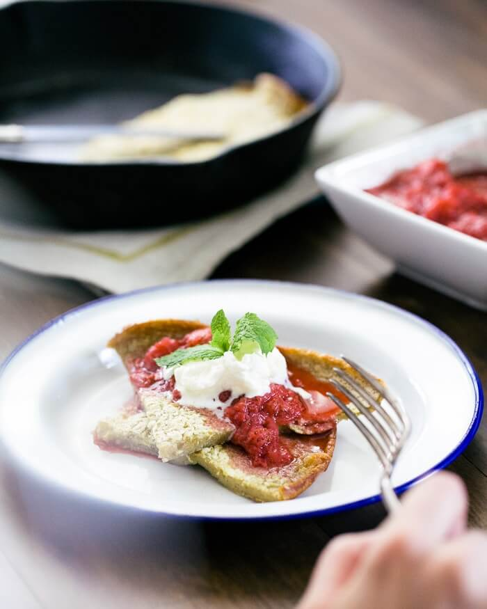 Buckwheat Dutch Baby with Strawberries + Giveaway | a ...