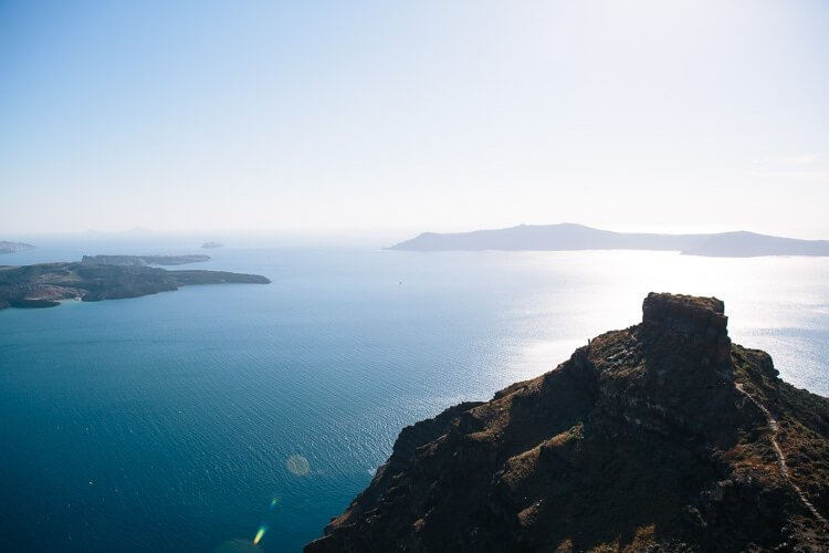 Skaros Rock | Santorini pics