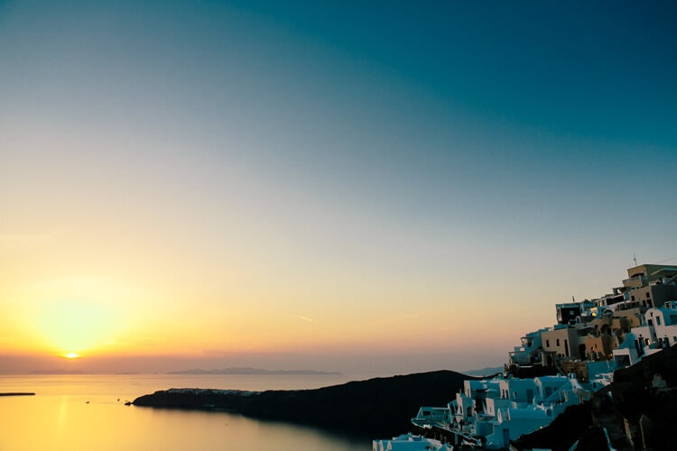 Things to do in Santorini Greece | Sunset in the Greek Islands