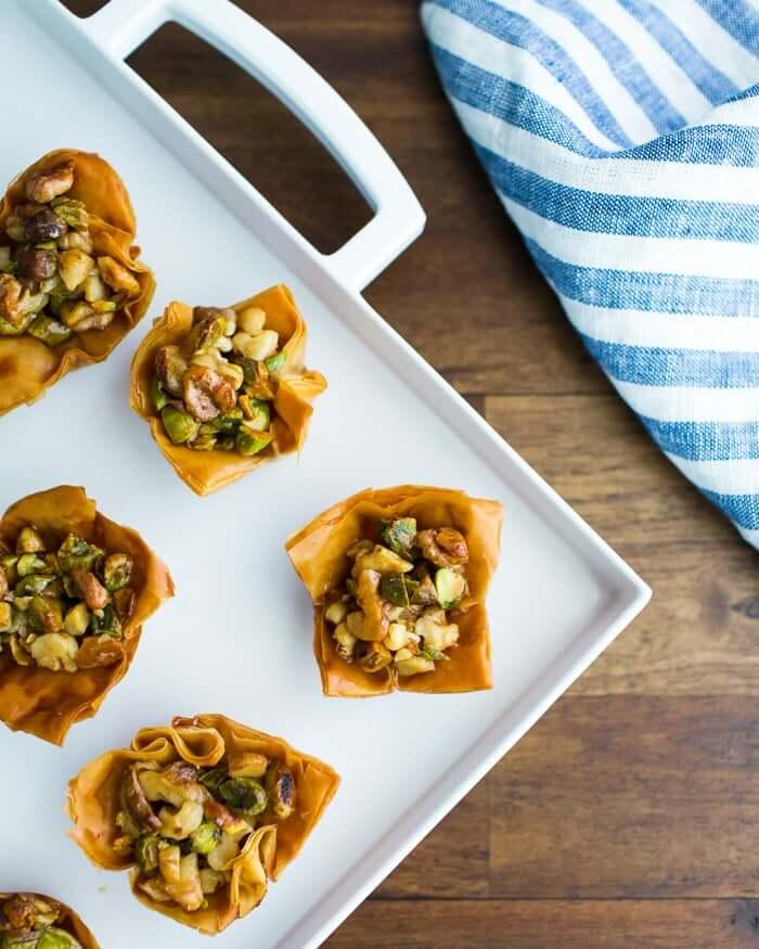 Easy baklava recipe | phyllo cups