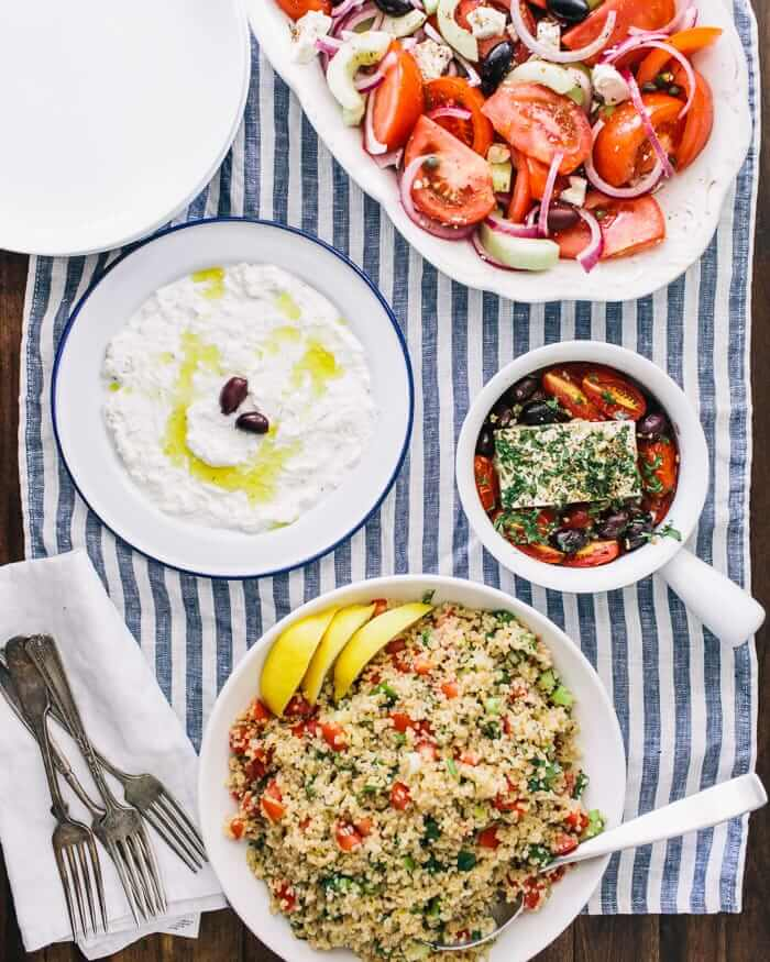 Greek Menu | A Couple Cooks