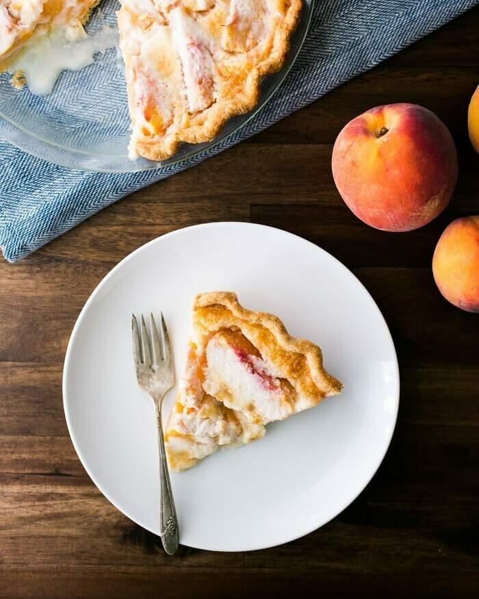 The Best Peach Pie