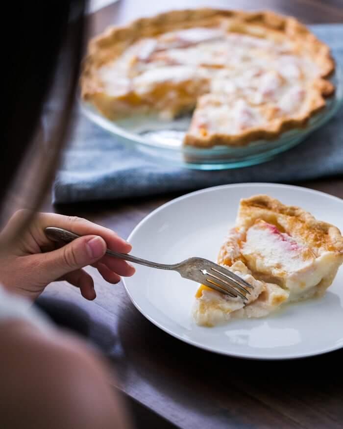 The Best Peach Pie Recipe | A Couple Cooks