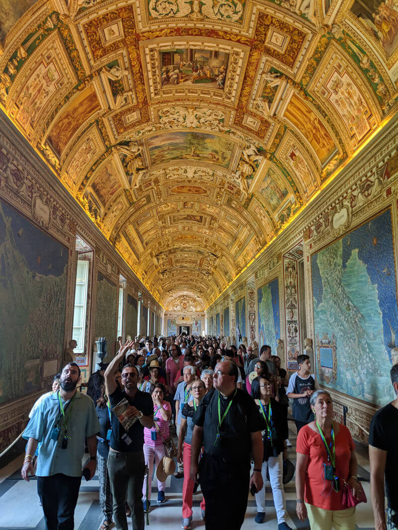 The Vatican Museum | The Gallery of Maps