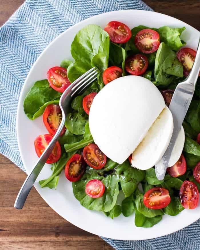 Arugula and Tomato Burrata Salad   A Couple Cooks
