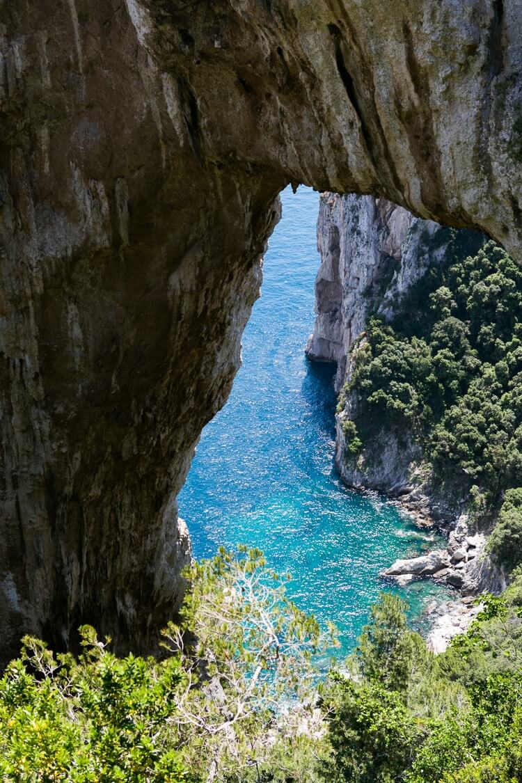 Capri Italy | Arco naturale