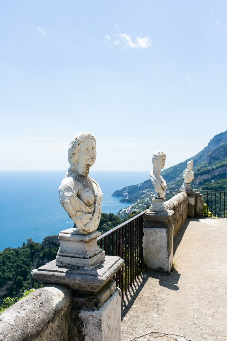 Amalfi Coast Italy | Ravello | Terrace of Infinity