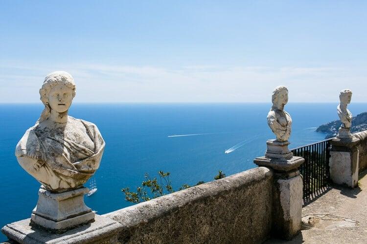 Amalfi Coast Italy | Ravello | Terrace of Infinity | Villa Cimbrone