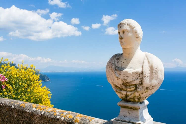 Amalfi Coast Italy | Terrace of Infinity | Ravello | Villa Cimbrone
