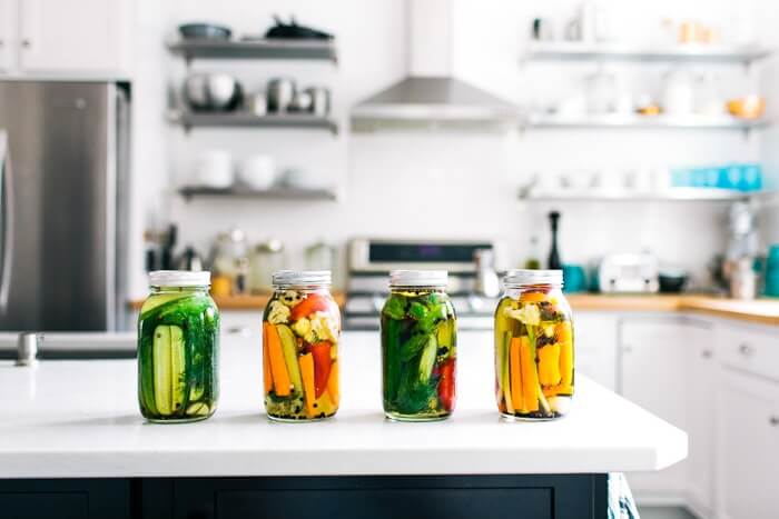 Quick pickled vegetables