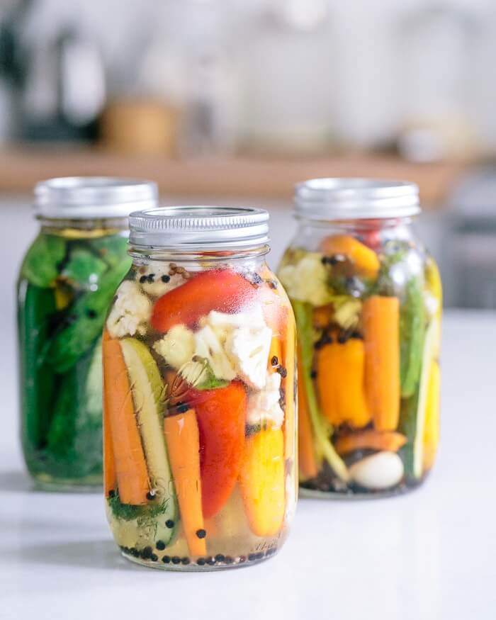 Quick Pickled Vegetables A Couple Cooks